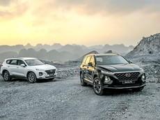 """Không nằm ngoài cuộc đua giảm giá, Hyundai Santa Fe nhận ưu đãi """"khủng"""" lên tới gần trăm triệu đồng"""
