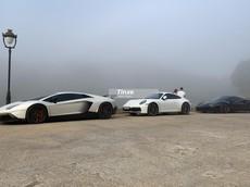 """Ngắm dàn siêu xe trăm tỷ đồng của đoàn Car Passion """"tắm sương"""" sớm ở Đà Lạt"""