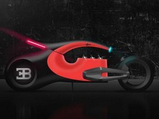 Sẽ ra sao nếu thương hiệu siêu xe Bugatti sản xuất xe mô tô phân khối lớn cao cấp?
