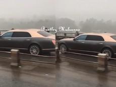 """Video: Thực hư chuyện xe Bentley Mulsanne chạy vào làn """"xe máy"""" trên cầu Thanh Trì"""