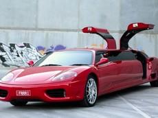 """Ferrari 360 Modena """"Limo"""" - Những chiếc limousine tốc độ nhất thế giới mà hiếm ai biết"""