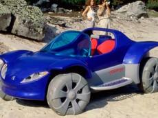 Peugeot Touareg 1996 - Mẫu concept đi bãi biển trông như xe đồ chơi khổng lồ của người Pháp
