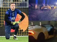 Ngôi sao cũ của Chelsea phá hỏng siêu xe Lamborghini Huracan Evo Spyder đi thuê