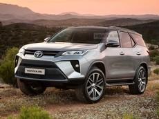 SUV 7 chỗ Toyota Fortuner 2020 sẽ ra mắt Đông Nam Á vào tuần sau