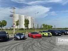 Dàn siêu xe bất ngờ tụ hội tại Hà Nội, có cả Lamborghini Urus và Tesla Model X