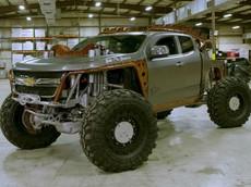 Kymera - Quái vật chinh phục địa hình dựa trên Chevrolet Colorado