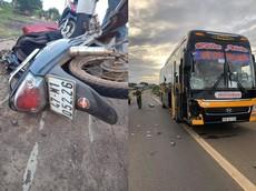 Video: Xe máy va chạm trực diện với ô tô khách khiến người đàn ông tử vong tại Đắk Lắk