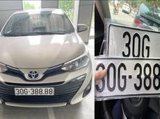"""""""Mát tay"""" bốc được biển tứ quý 8, chủ xe Toyota Vios rao bán lại giá hơn 1 tỷ đồng"""