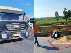 Ninh Bình: Người phụ nữ chạy xe máy tử vong sau va chạm với xe đầu kéo