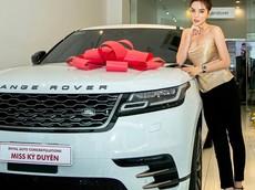 Hoa hậu Kỳ Duyên tậu Range Rover Velar