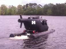SpeedyCopter - Chiếc xe đua lưỡng cư mang dáng vẻ trực thăng chiến đấu độc nhất thế giới