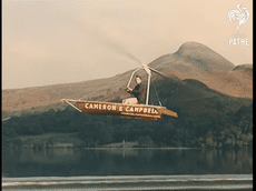 Giro Boat - Chiếc thuyền bay dành cho người gan dạ ra đời cách cách đây 60 năm
