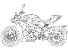 Mô tô điện Kymco RevoNEX chính thức hé lộ bản vẽ thực tế, sẵn sàng cho sản xuất thương mại