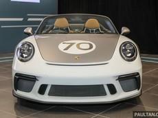 Porsche 911 Speedster siêu hiếm hạ cánh tại Malaysia với mức giá bán gần 15 tỷ đồng
