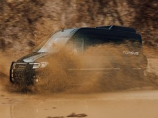 Torsus Terrastorm - Chiếc minibus 4x4 hứa hẹn biết off-road tốt nhất thế giới