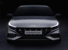 Hyundai Elantra N Line 2021 lộ diện với thiết kế hấp dẫn