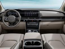 """Kia chính thức tung ra hình ảnh nội thất """"sang, xịn"""", mịn"""" của Sedona 2021, màn hình như Mercedes-Benz"""