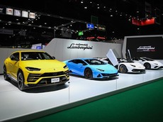 Chiêm ngưỡng dàn siêu xe gần 100 tỷ đồng ở gian hàng Lamborghini tại triển lãm Bangkok Motor Show 2020