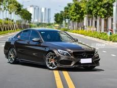 Mercedes-Benz C300 AMG được chủ nhân mạnh tay chi gần 300 triệu đồng để độ xe