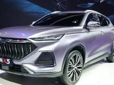 Oshan X5 - SUV hạng C dáng vẻ sắc cạnh thể thao, lưới tản nhiệt to khổng lồ được ra mắt