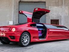 """Chiếc Ferrari 360 Modena """"Limo"""" 2003 đặc biệt này đang được rao bán giá 6,59 tỷ đồng"""