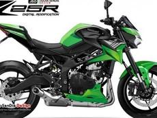 Sau Sport bike ZX-25R đình đám, Kawasaki sẽ cho ra mắt Naked bike Z25R có chung khối động cơ?