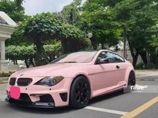 BMW 6-Series độ body kit khoác áo hồng nữ tính tại Sài thành
