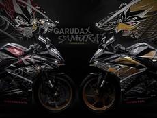"""Honda CBR250RR có thêm phiên bản cao cấp mới, mang trên mình """"hình xăm"""" Samurai và Garuda tuyệt đẹp"""