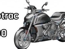 """Trung Quốc tiếp tục khiến Ducati """"phát hờn"""" với Motrac 900 - mô tô """"nhái"""" Diavel sắp ra mắt"""