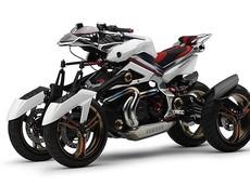 Yamaha Tesseract - Xe mô tô 4 bánh có khả năng di chuyển đỉnh cao
