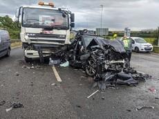Vụ tai nạn này giải thích một phần lý do vì sao người ta mua xe sang như BMW 3-Series