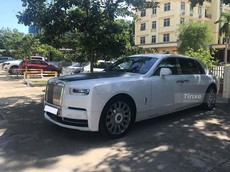 Cực phẩm Rolls-Royce Phantom Tranquillity bản 25 chiếc xuất hiện tại Thanh Hoá
