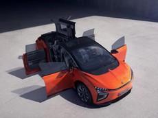 Human Horizons HiPhi X - SUV chạy điện 6 chỗ có thiết kế cửa độc đáo hơn cả Tesla Model X