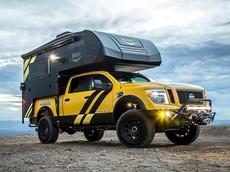 Hellwig Rule Breaker - Chiếc xe bán tải cắm trại cực tiện nghi dựa trên Nissan Titan XD