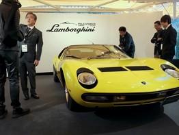 Lamborghini kỷ niệm 50 năm xuất hiện ở Nhật Bản