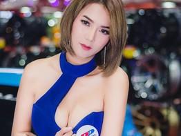 Rớt hàm với dàn người mẫu nóng bỏng  tại triển lãm ô tô Thái Lan