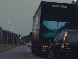 Có phát minh này bạn sẽ không sợ bị tai nạn khi vượt xe tải nữa