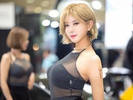 """Huh Yun Mi - Người mẫu xe hơi Hàn Quốc với vẻ đẹp """"mê hoặc"""" lòng người"""