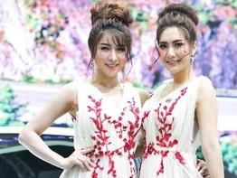 Xịt máu cam với dàn người mẫu Thái Lan xinh như mộng ở triển lãm ô tô Bangkok 2018
