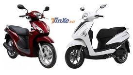 Chọn mua Yamaha Acruzo hay Honda Vision trong tầm giá 35 triệu đồng?