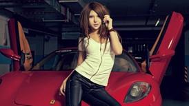 Hot girl Nhã Đế tạo dáng cá tính, cực xinh bên siêu xe Ferrari F430