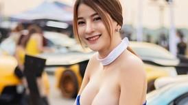 Nuốt nước bọt trước vẻ nóng bỏng của các người mẫu xe Thái Lan