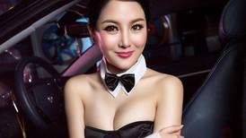 Người đẹp Trung Quốc tinh nghịch với bộ trang phục thỏ ngọc gợi cảm