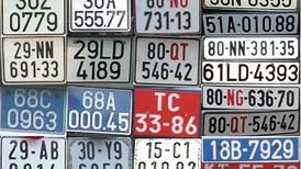 Biển số xe các Tỉnh, Thành phố cập nhật mới nhất 2020