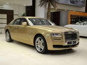 """Rolls-Royce Ghost phiên bản """"ốc đảo sa mạc"""" ấn tượng tại Abu Dhabi"""