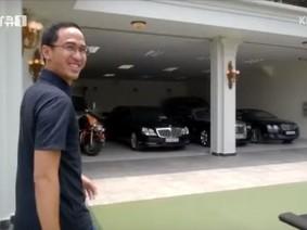 Chồng Hà Tăng giới thiệu bộ sưu tập siêu xe và xe siêu sang trị giá trăm tỷ Đồng cho nhà đài Hàn Quốc