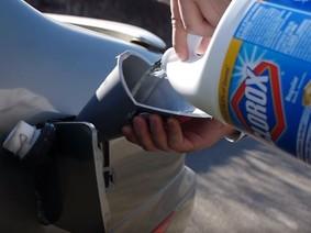 Đây là bằng chứng cho thấy đổ thuốc tẩy vào bình xăng thì xe vẫn chạy tốt