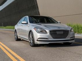 Sedan hạng sang Genesis G80 2018 ra mắt với động cơ mới tiết kiệm nhiên liệu