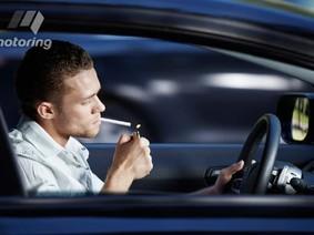 Hút thuốc lá trên xe - hậu quả khó lường