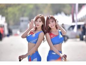 """Mỹ nữ Hàn khoe thân """"nóng bỏng"""" tại CJ Superrace 2018"""
